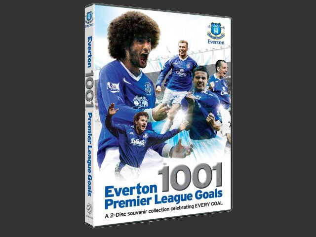 エバートン DVD 1001 プレミアリーグGoals | 海外サッカーDVDショップ ...