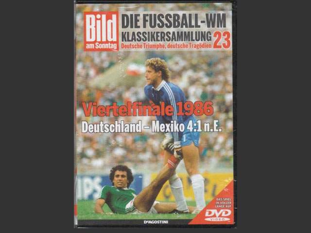 FIFAワールドカップ1986 準々決勝 DVD 西ドイツ vs メキシコ | 海外 ...
