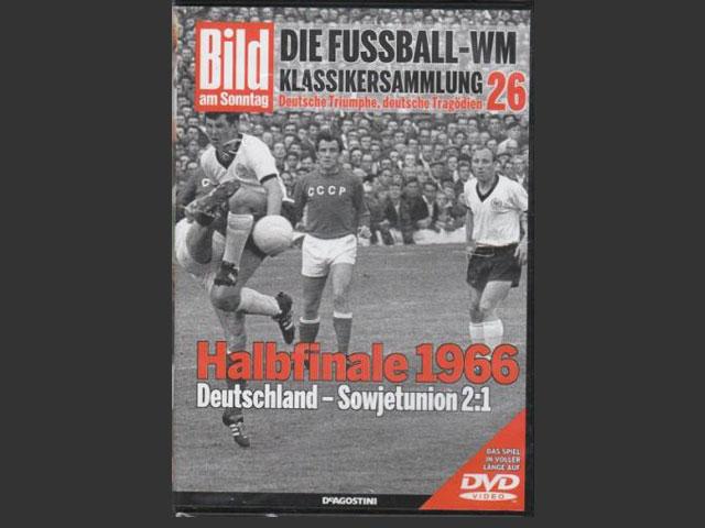 FIFAワールドカップ1966 準決勝 DVD 西ドイツ vs ソ連 | 海外サッカー ...