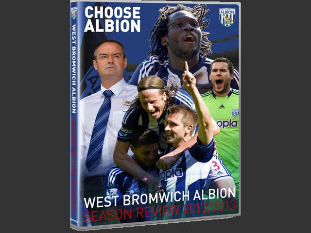 ウェスト・ブロムウィッチ・アルビオンFC 2012-13 DVD シーズン総集編 ...
